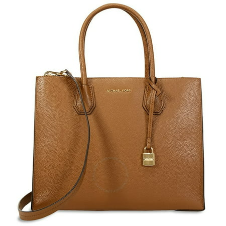 6ceb34359c2c71 Michael Kors - Michael Kors Mercer Large Leather Tote - Luggage -  30F6GM9T3L-230 - Walmart.com