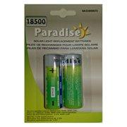 Paradise Garden Lighting 18500 800 mAh Batteries - 2 Pack
