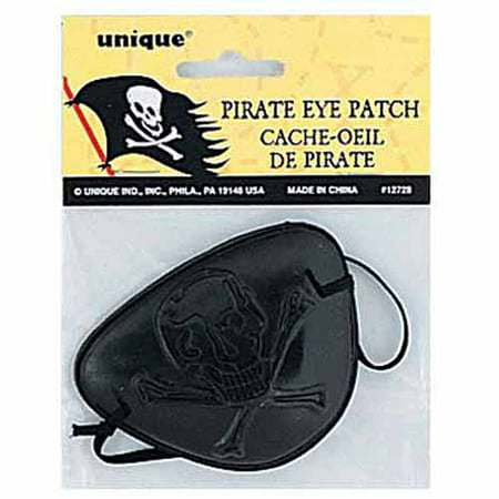 Plastic Pirate Eye Patch Party Favor, 1ct Oakley Eye Patch