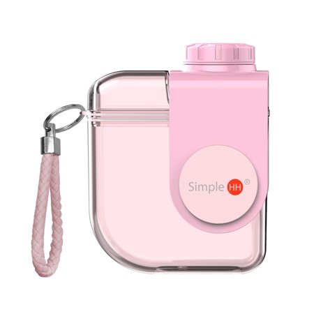 Holiday Season High Quality BPA Free Plastic Leak Proof Juicy Modern Water Bottle w/ Straw and Rotatable Lid For Kid (Free Glasses Uk)
