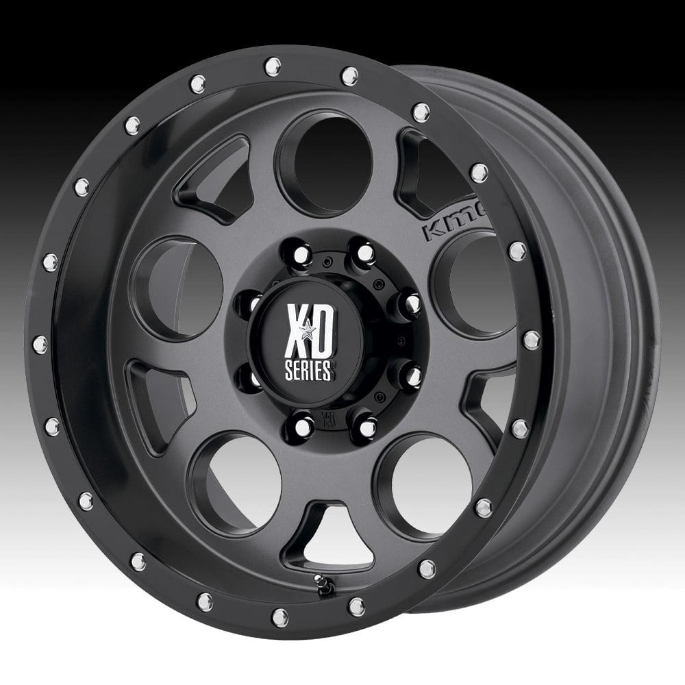 KMC XD XD126 Enduro Pro Satin Gray 18x9 5x5.5 -12mm (XD12689055412N)
