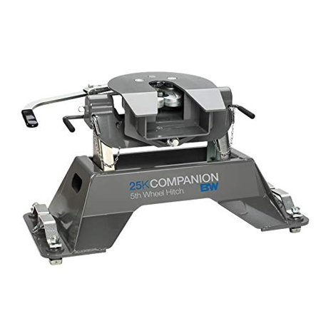 B&W Trailer Hitches RVK3305 Companion 5th Wheel for Ford Puck for Fits 4 Pucks in Ford Truck Bed, Fully Articulating Head Allows Front to Back and Side to Side Pivoting. 5th Wheel Ball Hitch