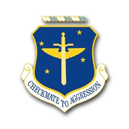 3.8 Inch Air Force 19th Air Refueling Group Vinyl Transfer
