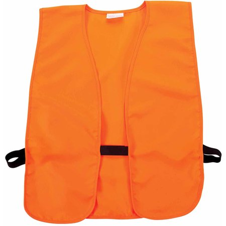 Allen Company 15752A Adult Men/Women Blaze Orange Hunting/Safety Vest, Fits Chest Size 38 - 48 Inch thumbnail