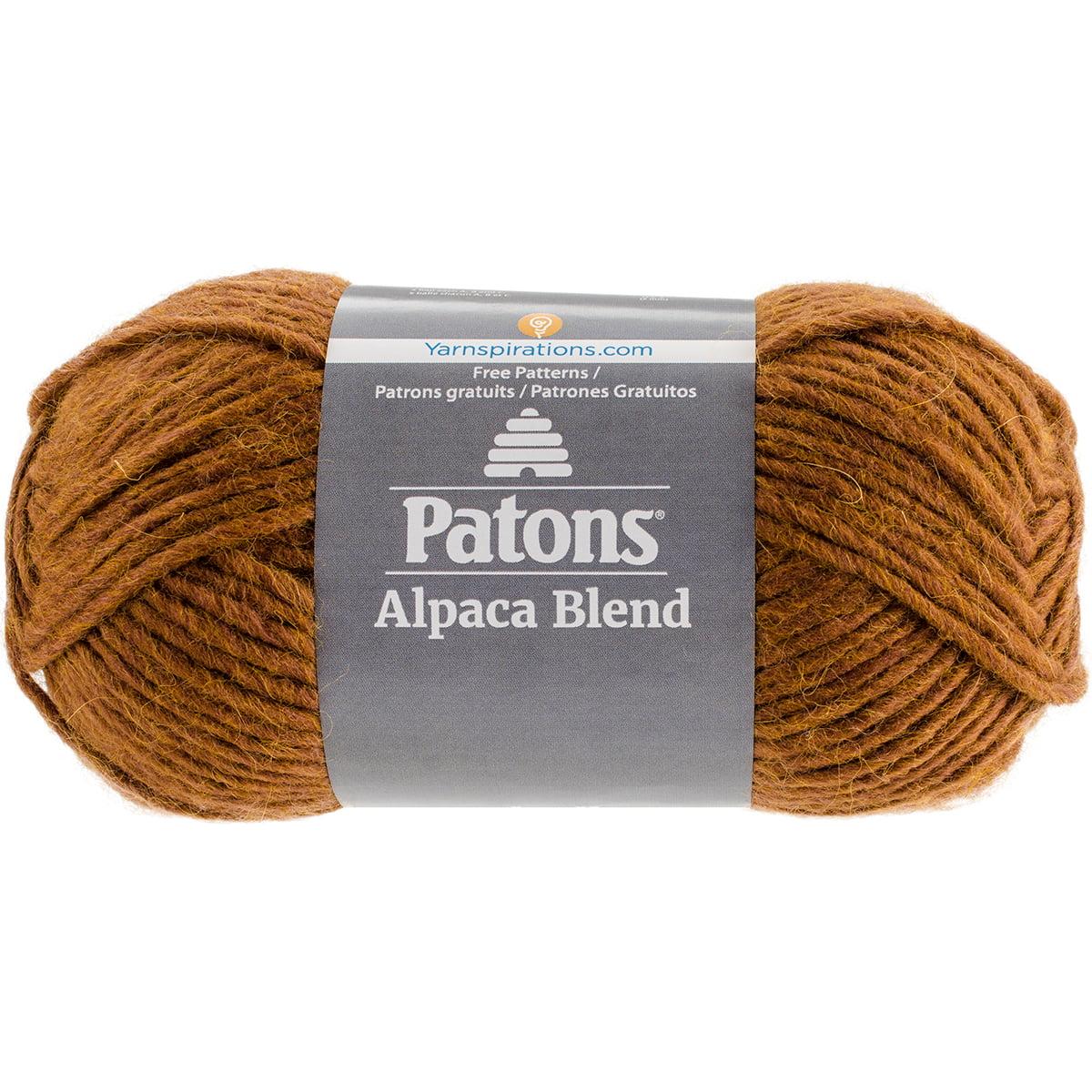 Alpaca Natural Blends Yarn-Toffee