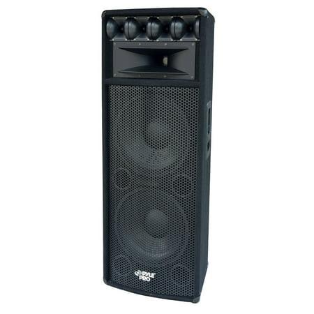 PYLE PADH212 - 1600W Heavy Duty 7 Way Pa Loud-speaker (Series Pa Speaker Cabinet)