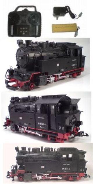 G Steam Train Engine Remote Control Dampflok Harzlich by NEWQIDA TOYS FACTORY