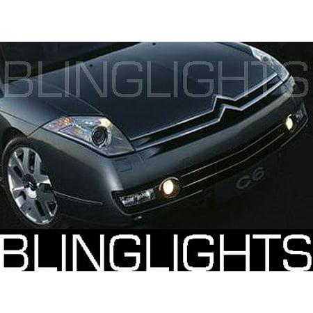 2006 2007 2008 2009 2010 2011 Citro  N C6 Xenon Fog Lamps Driving Lights Foglamps Foglights Kit
