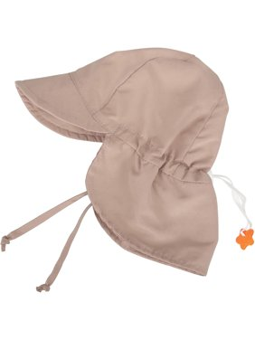 UPF 50+ UV Ray Sun Protection Baby Hat w/Neck Flap,Light Blue,2-4 Y