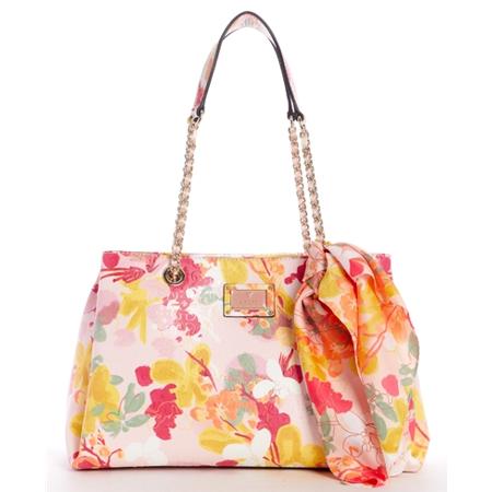 GUESS Handbag SHANNON LRG GIRLFRIEND SATCHEL*