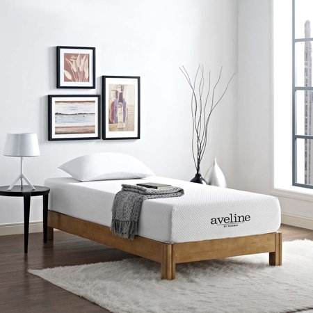 "Modway Aveline 10"" Gel-Infused Memory Foam Mattress, Multiple Sizes"