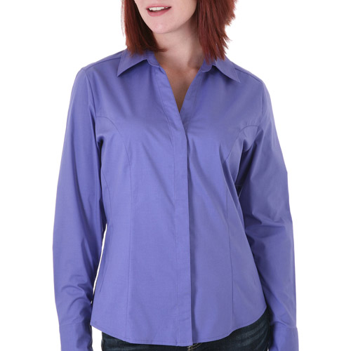 Riders by Lee Women's Margaret Long Sleeve Woven Shirt