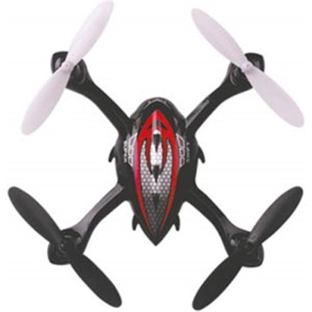 Microgear EC10384-Red 2. 4 GHZ Radio Controlled RC Quadcopter 4 Axis