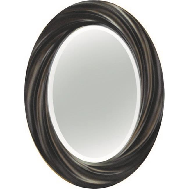 Image of A Art Gallery 3-0231 Copper Oval Beauty Mirror