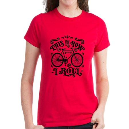 f9f3df0958 CafePress - CafePress - Funny Cycling T-Shirt - Women's Dark T-Shirt -  Walmart.com