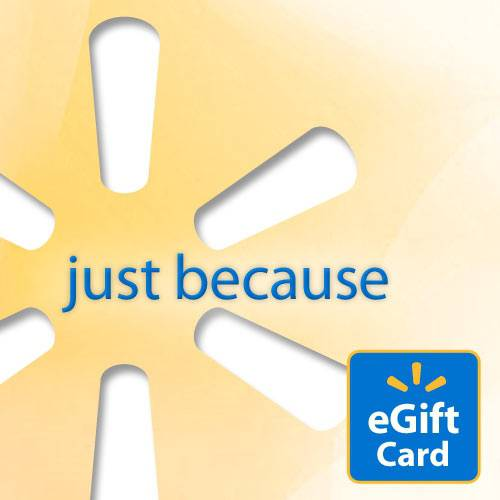 Everyday Yellow Walmart eGift Card