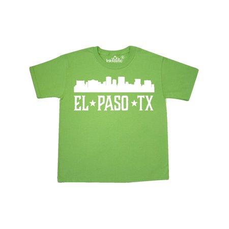 El Paso Texas Skyline TX Cities Youth T-Shirt - Party City El Paso Texas