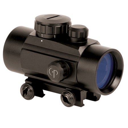CenterPoint Optics 1x30mm Enclosed Reflex Sight Red and Green Dot Sight, 72601