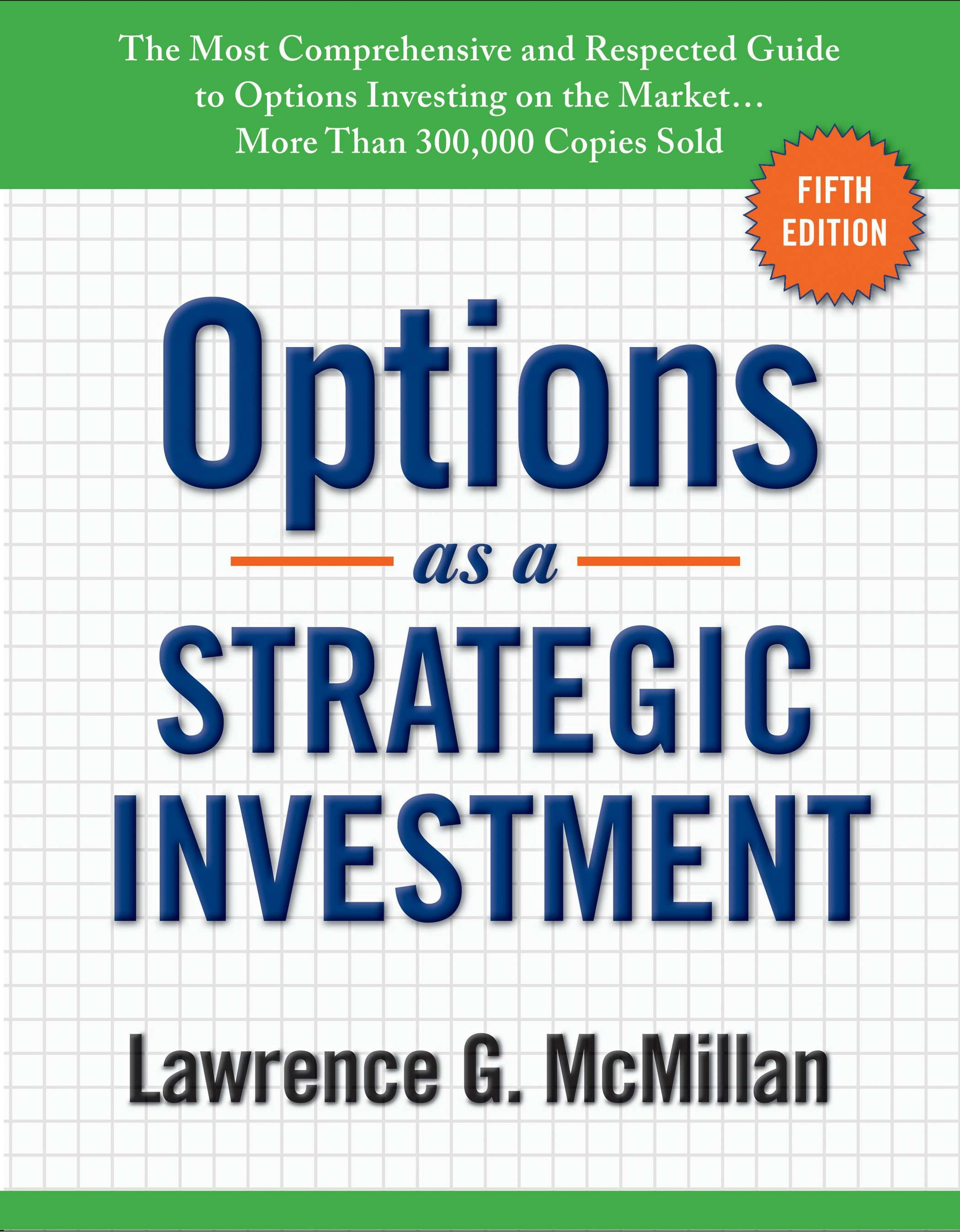 Image result for mcmillan options as a strategic investment volume 5