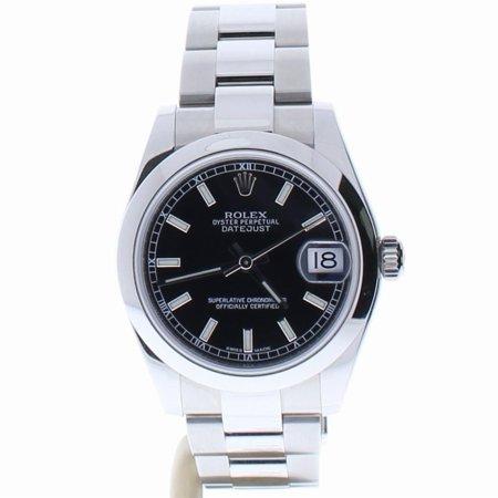 Rolex Datejust 178240 Steel Women Watch (Certified Authentic & Warranty)