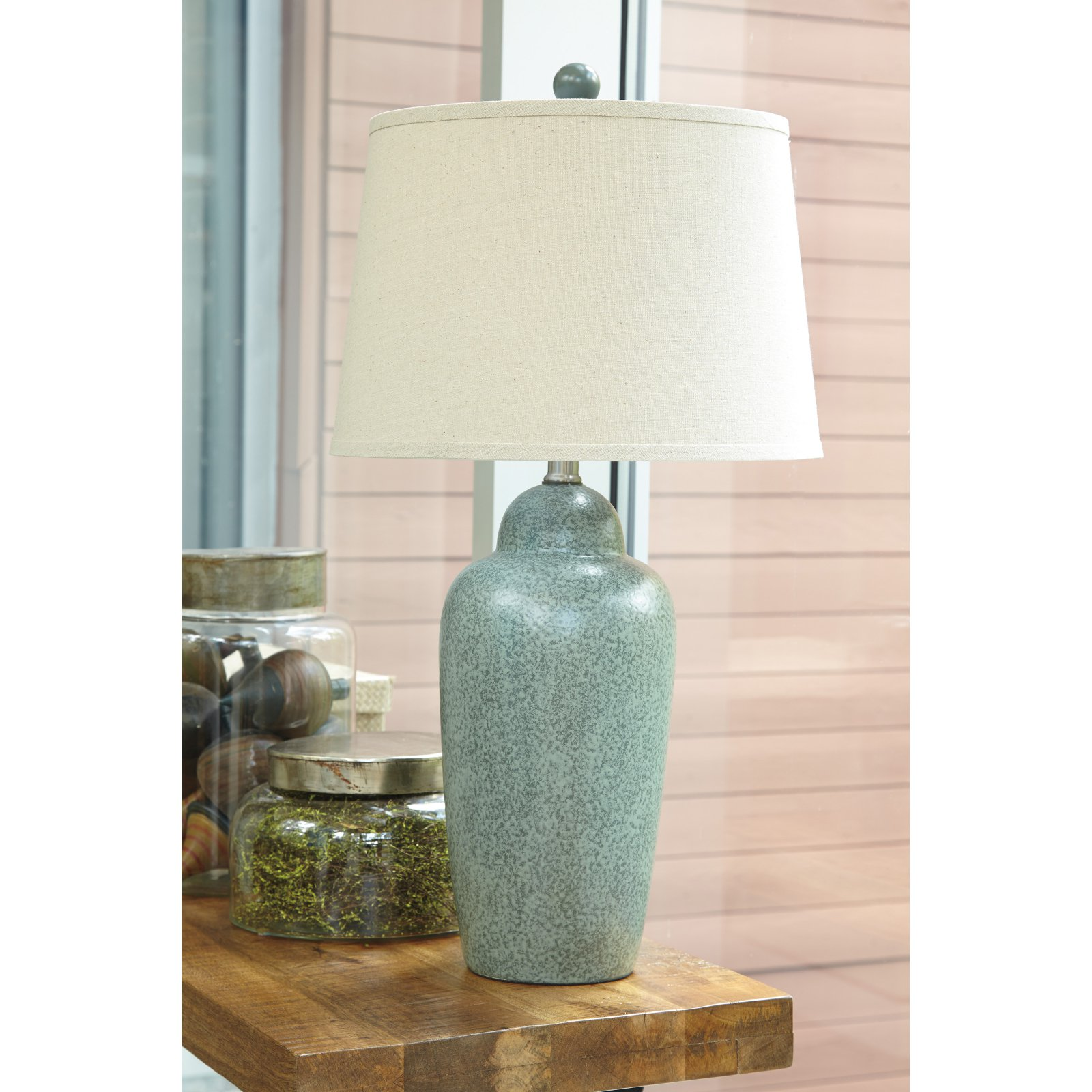 Signature Design by Ashley Saher L100254 Table Lamp by Ashley Furniture