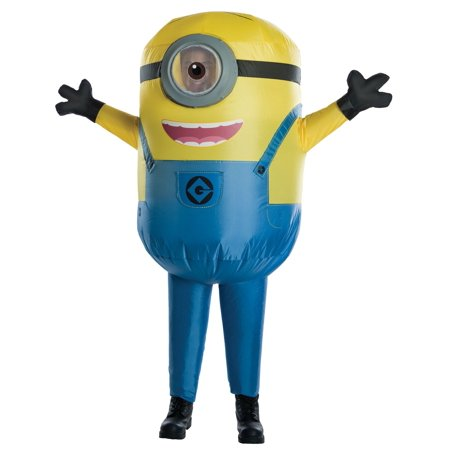 Despicable Me: Stuart Minion Inflatable Kids Costume](Infant Minion Costumes)