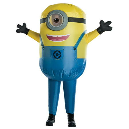 Despicable Me: Stuart Minion Inflatable Kids Costume (Despicable Me Characters Costumes)