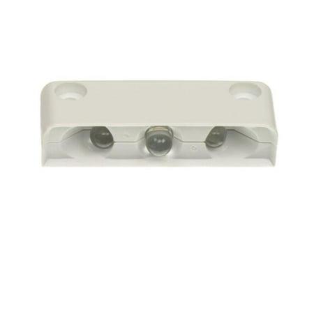 003-5100-7 Light White & White 3-LED Step Light with Surface Mount ()