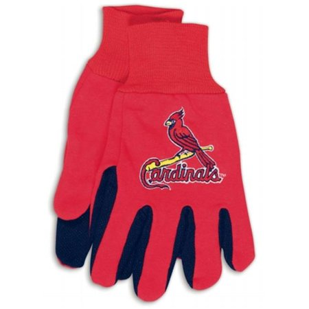 St. Louis Cardinals Youth Size Two Tone Gloves - image 1 of 1