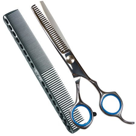 Professional Barber Hair Thinning scissors/ Shears, 6 Inch Stainless Steel Barber Handmade Hair-cutting With a (Professional Shears)