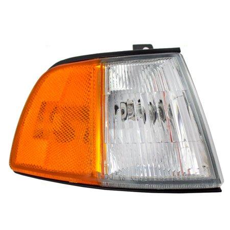 Passengers Park Signal Side Marker Light Lamp Lens Replacement for Honda 34300SH3A11 86 Lamp Side Park Car