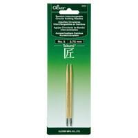Takumi Bamboo Interchangeable Circular Knitting Needles, Size 5/3.75mm