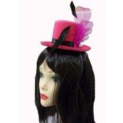 Fuchsia Mini Top Hat