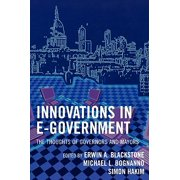 Innovations in E-Government : The Thoughts of Governors and Mayors