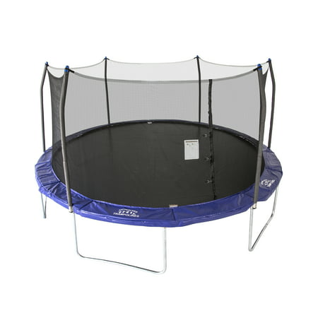 Skywalker Trampolines Oval 16-Foot Trampoline, with Enclosure,