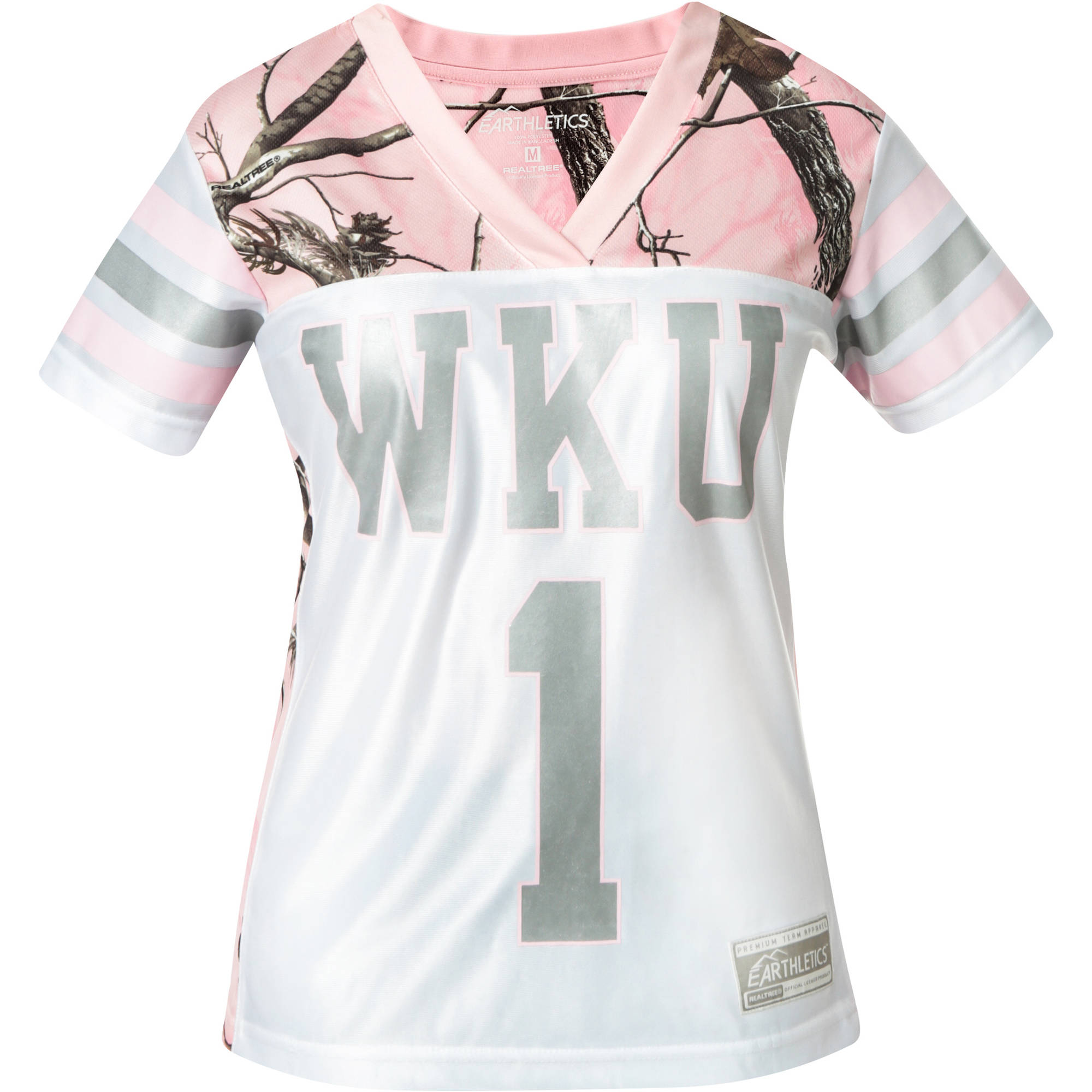 NCAA Western Kentucky Ladies Pink Game Day Jersey