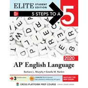 5 Steps to a 5: AP English Language 2020 Elite Student edition - eBook
