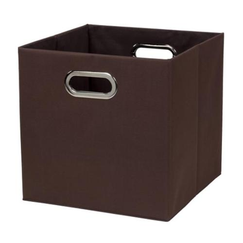 Creative Bath 32802-BRN Fold N Store Crate - Brown