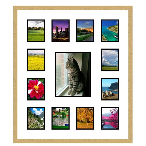Frames By Mail 13 Opening Collage Picture Frame