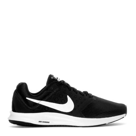 Nike DOWNSHIFTER 7 Womens Black White Athletic Running Sneaker Shoes
