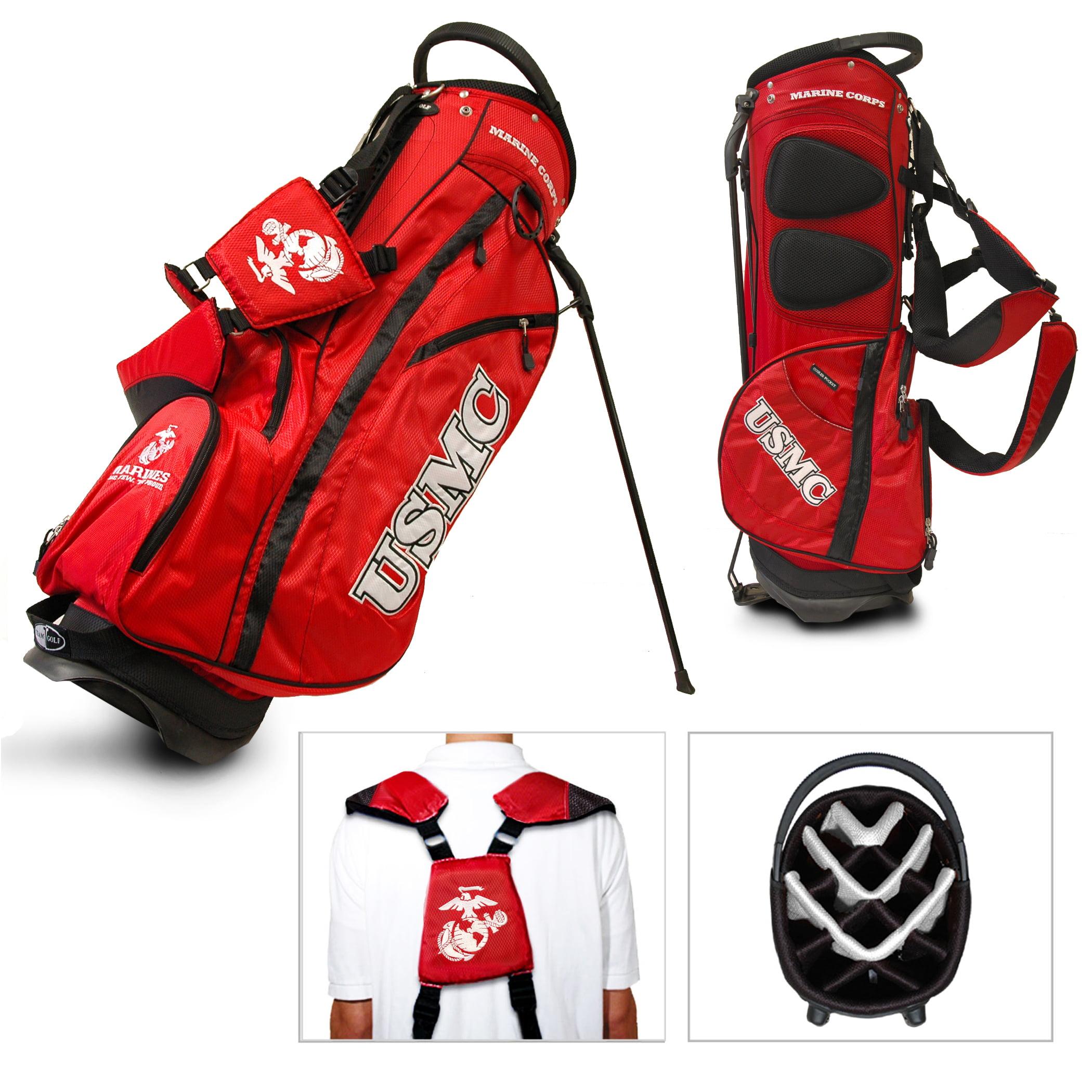 Team Golf Military Us Marines Fairway Golf Stand Bag