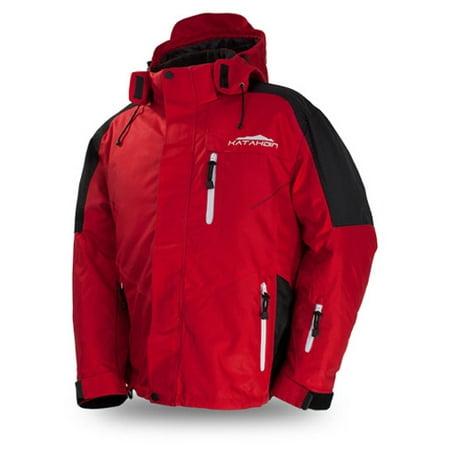 6b3012806 Katahdin Gear 84160604 Katahdin Gear Men s Apex Jacket Red Large ...