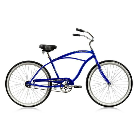 "Micargi Pantera 26"" Beach Cruiser Coaster Brake 26-inch Male Blue Pantera Cruiser"