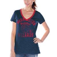 Washington Wizards Women's Back Court Current Day Logo T-Shirt - Navy Blue