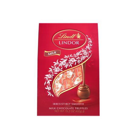 Lindt Lindor Milk Chocolate Truffle Bag 15.2 oz each (1 Item Per Order)