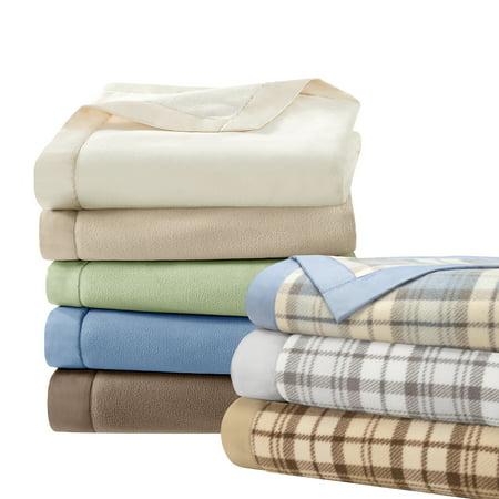 Katie Little Luxury Blanket - Comfort Classics Soft Brushed Lightweight Micro Fleece Blanket