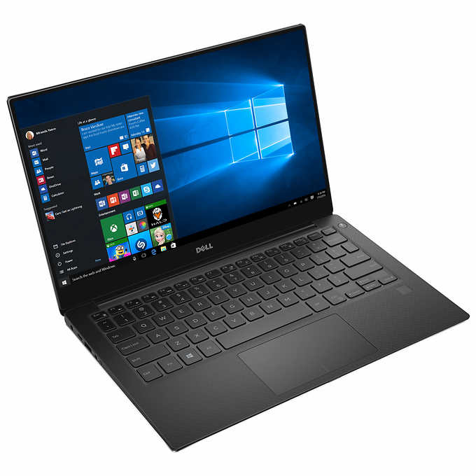 "Dell XPS 13 9360 Laptop, 13.3"", Intel® Core™ i7-8550U, Intel® HD Graphics, 1TB SSD, 16GB RAM, XPS9360-7166SLV-PUS"