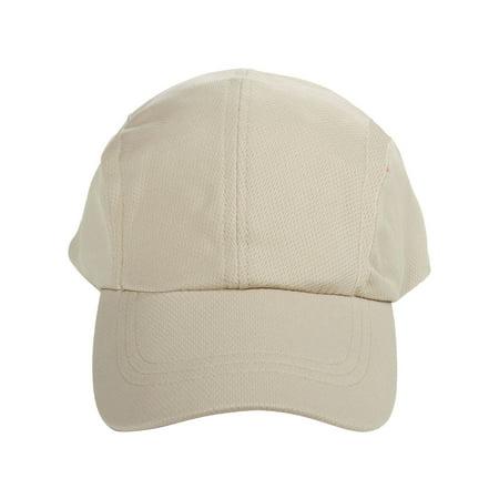 Unisex Men Women Comfort Fit Dry Fit Mesh Hat Moisture Wicking Baseball Cap