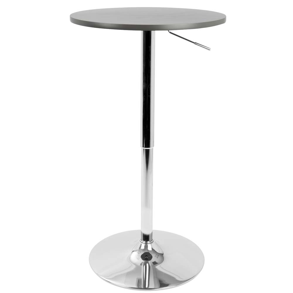 Lumisource Adjustable Contemporary Pub Table by LumiSource