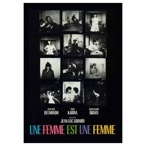Une Femme est Une Femme [A Woman is a Woman] (1964)